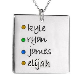 Picture for category Posh Mommy Square Pendants