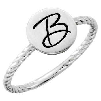 Picture for category Posh Mommy Signet Rings