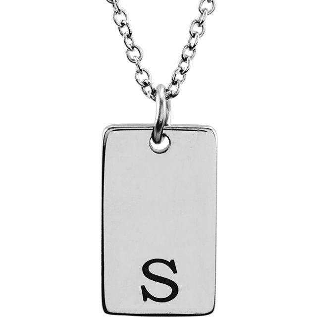 14k gold engravable disc necklace picture of be posh 14k gold engravable dog tag pendant aloadofball Choice Image