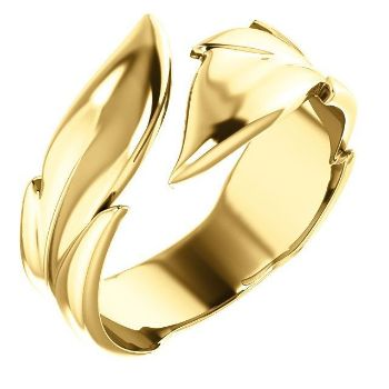 Picture of 14K Gold Leaf Ring